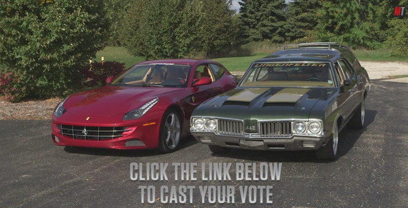Video: 1970 Oldsmobile Vista Cruiser Vs 2012 Ferrari FF