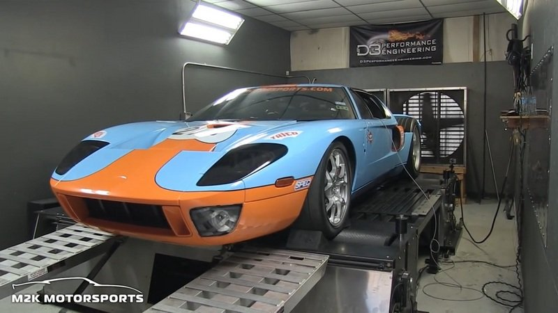 Video: 2,000-Horsepower Twin-Turbo Ford GT on the Dyno Exterior - image 576719