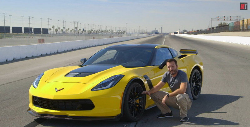 Video: 2015 Corvette Z06 Tested by Motor Trend
