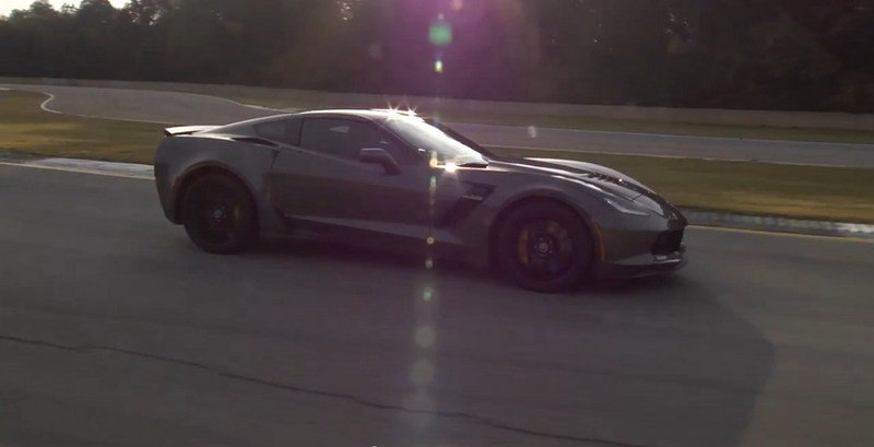 Video: 2015 Corvette Z06 Hits Road Atlanta