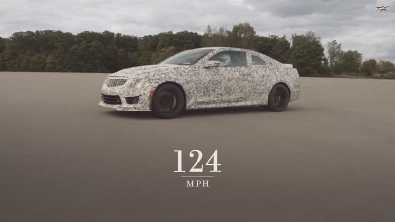 Video: Cadillac ATS-V Coupe Hits 60 MPH in Around 3.5 Seconds