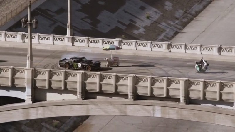 "Video: Gymkhana 7 ""Wild in the Streets"" Los Angeles"