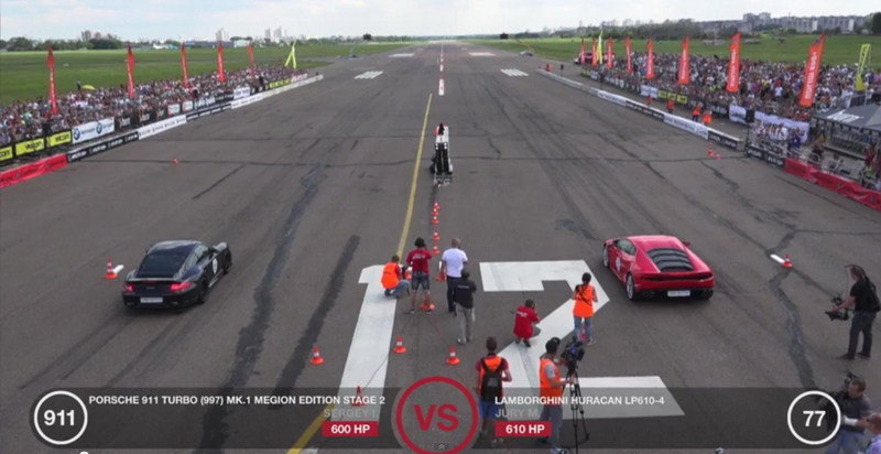 Lamborghini Huracan Vs. Porsche 911 Turbo Vs. Audi TT RS: Video