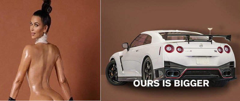 Who Has It Bigger? Nissan Says The GT-R Nismo!