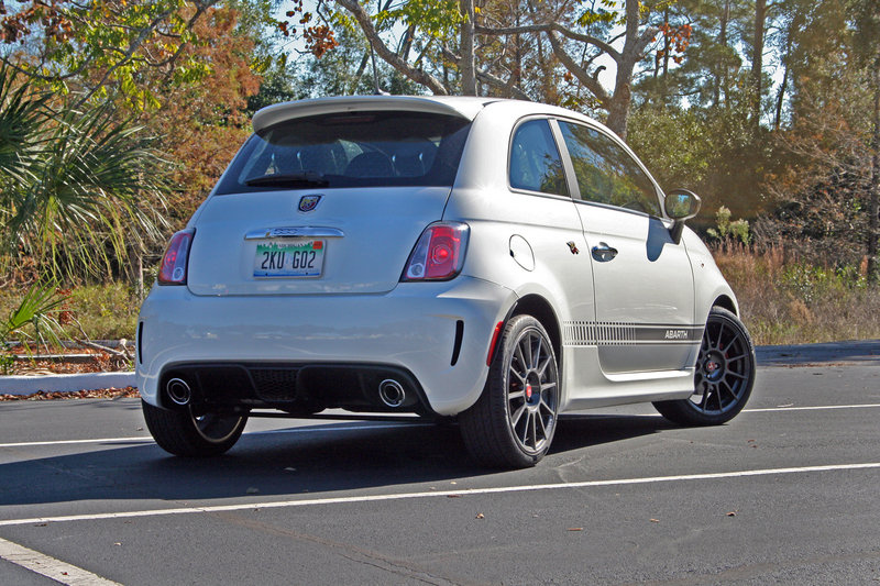 2014 Fiat 500 Abarth - Driven High Resolution Exterior - image 599549