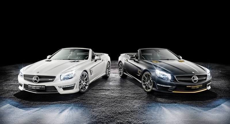 2014 Mercedes-Benz SL63 AMG World Championship 2014 Collector's Edition