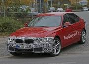 Spy Shots: Facelift BMW 3 Series Sedan Goes Out for a Spin - image 581240