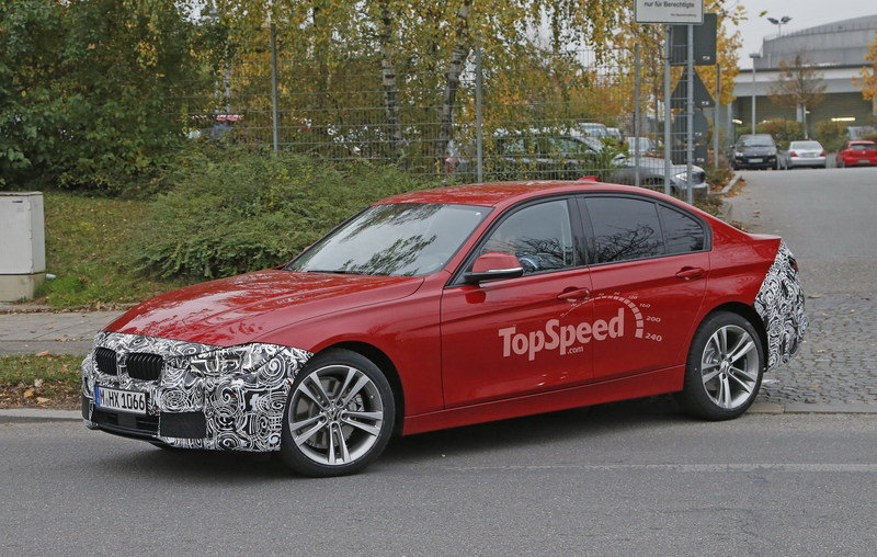 Spy Shots: Facelift BMW 3 Series Sedan Goes Out for a Spin Spyshots - image 581241