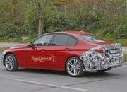 Spy Shots: Facelift BMW 3 Series Sedan Goes Out for a Spin - image 581243