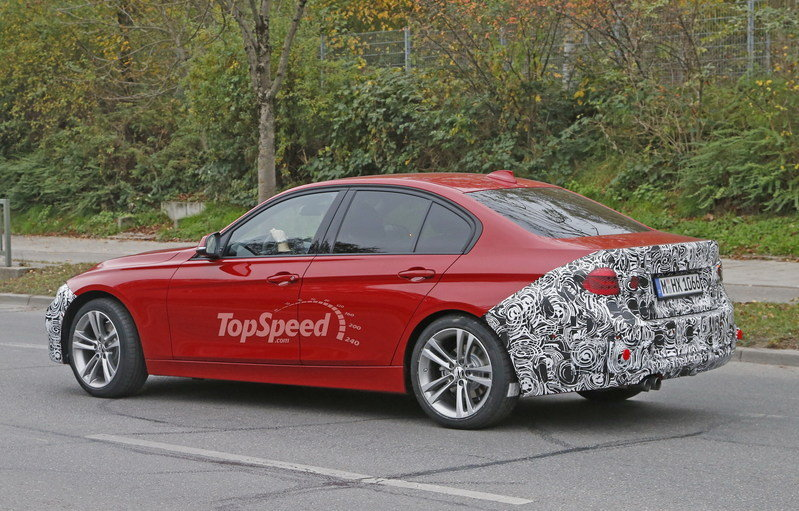 Spy Shots: Facelift BMW 3 Series Sedan Goes Out for a Spin Spyshots - image 581243