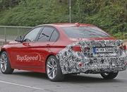 Spy Shots: Facelift BMW 3 Series Sedan Goes Out for a Spin - image 581244