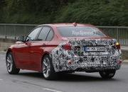 Spy Shots: Facelift BMW 3 Series Sedan Goes Out for a Spin - image 581245