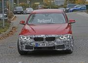 Spy Shots: Facelift BMW 3 Series Sedan Goes Out for a Spin - image 581239