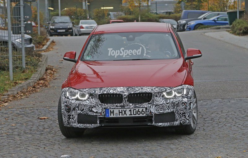 Spy Shots: Facelift BMW 3 Series Sedan Goes Out for a Spin Spyshots - image 581239