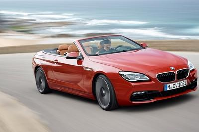 The entire 6 Series lineup has received a light refresh for the 2016 model year, including the convertible.