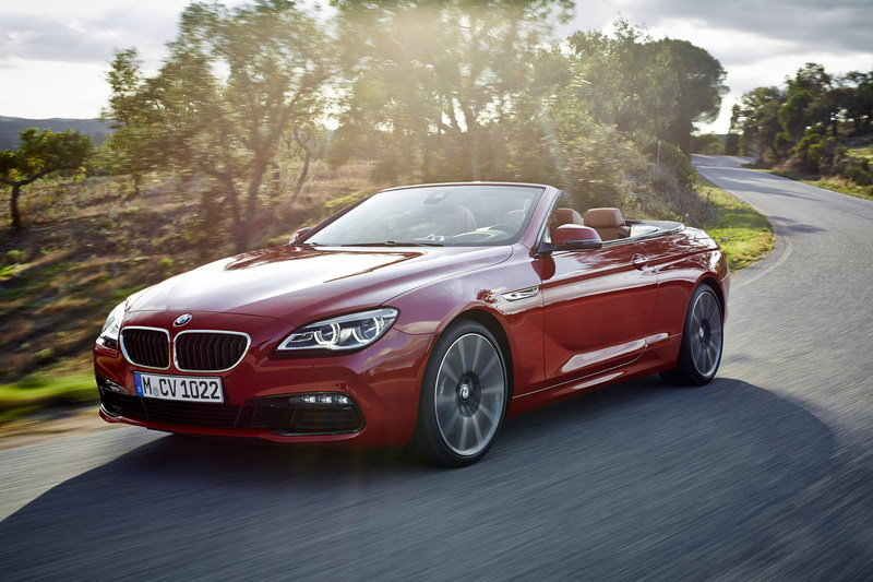 2016 BMW 6 Series Convertible High Resolution Exterior - image 585412