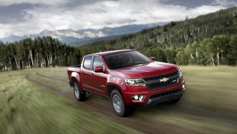 "2015 Chevrolet Colorado Crowned Motor Trend ""Truck Of The Year"""
