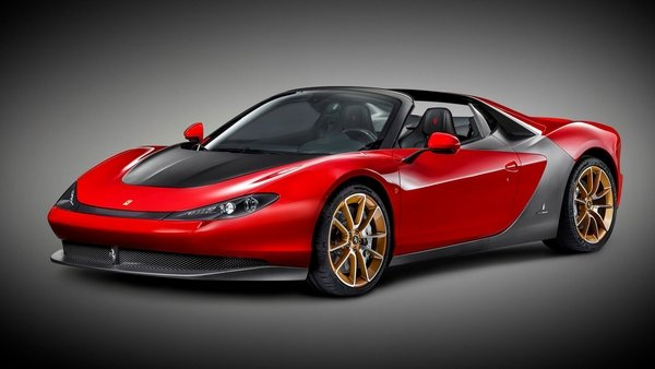 IT's finally here, folks. The production version of the Ferrari Sergio. Is worth $3 million?