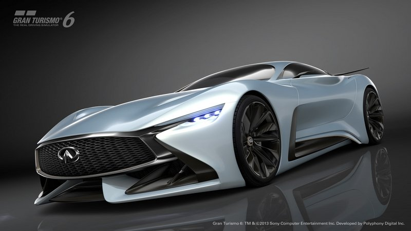 2015 Infiniti Vision GT Supercar Concept Computer Renderings and Photoshop - image 599295