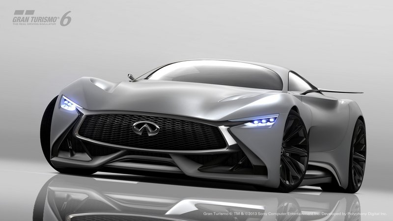 2015 Infiniti Vision GT Supercar Concept Computer Renderings and Photoshop - image 599287
