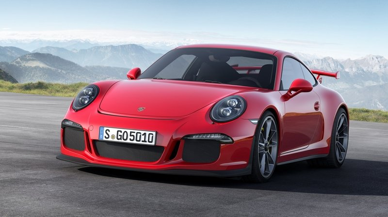 2015 Porsche 911 GT3 Delivered Without its PDK Sport Button