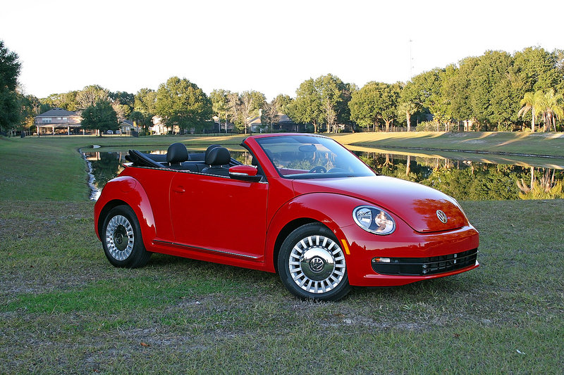 2015 Volkswagen Beetle Convertible 1.8T - Driven High Resolution Exterior - image 599665