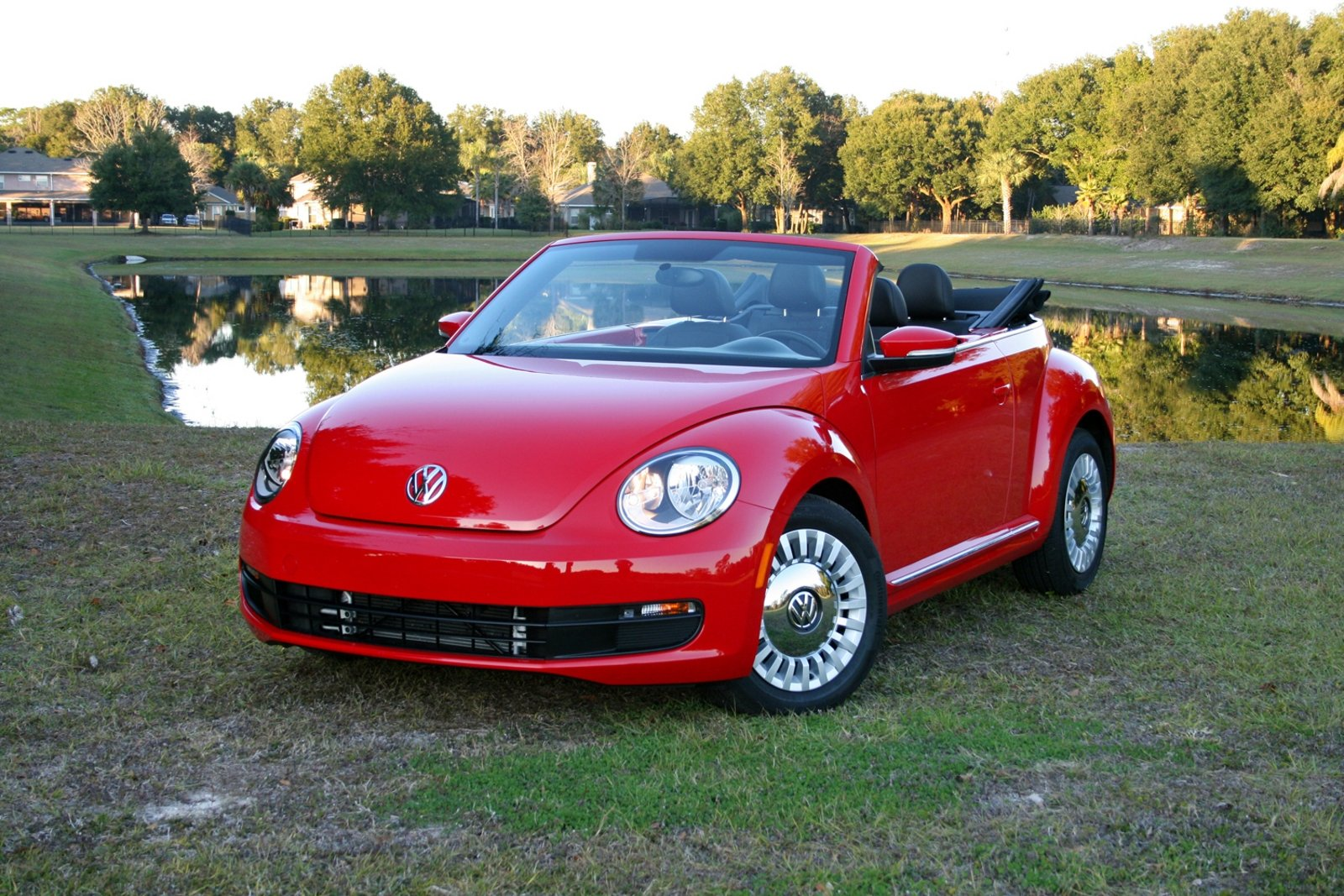 volkswagen beetle convertible  driven review top speed