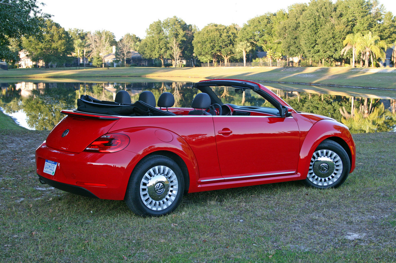 2015 volkswagen beetle convertible 1 8t driven picture 599643 car review top speed. Black Bedroom Furniture Sets. Home Design Ideas