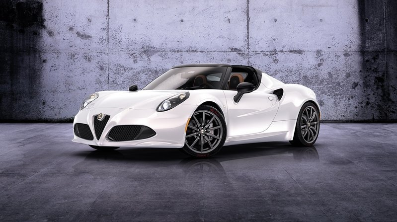 2016 Alfa Romeo 4C Spider High Resolution Exterior - image 608337