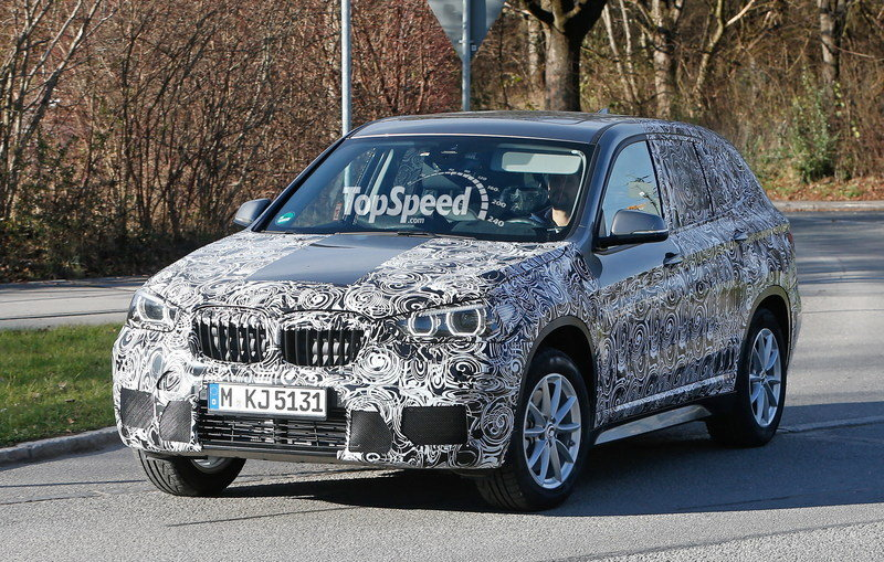 Spy Shots: 2016 BMW X1 Caught With Less Camouflage