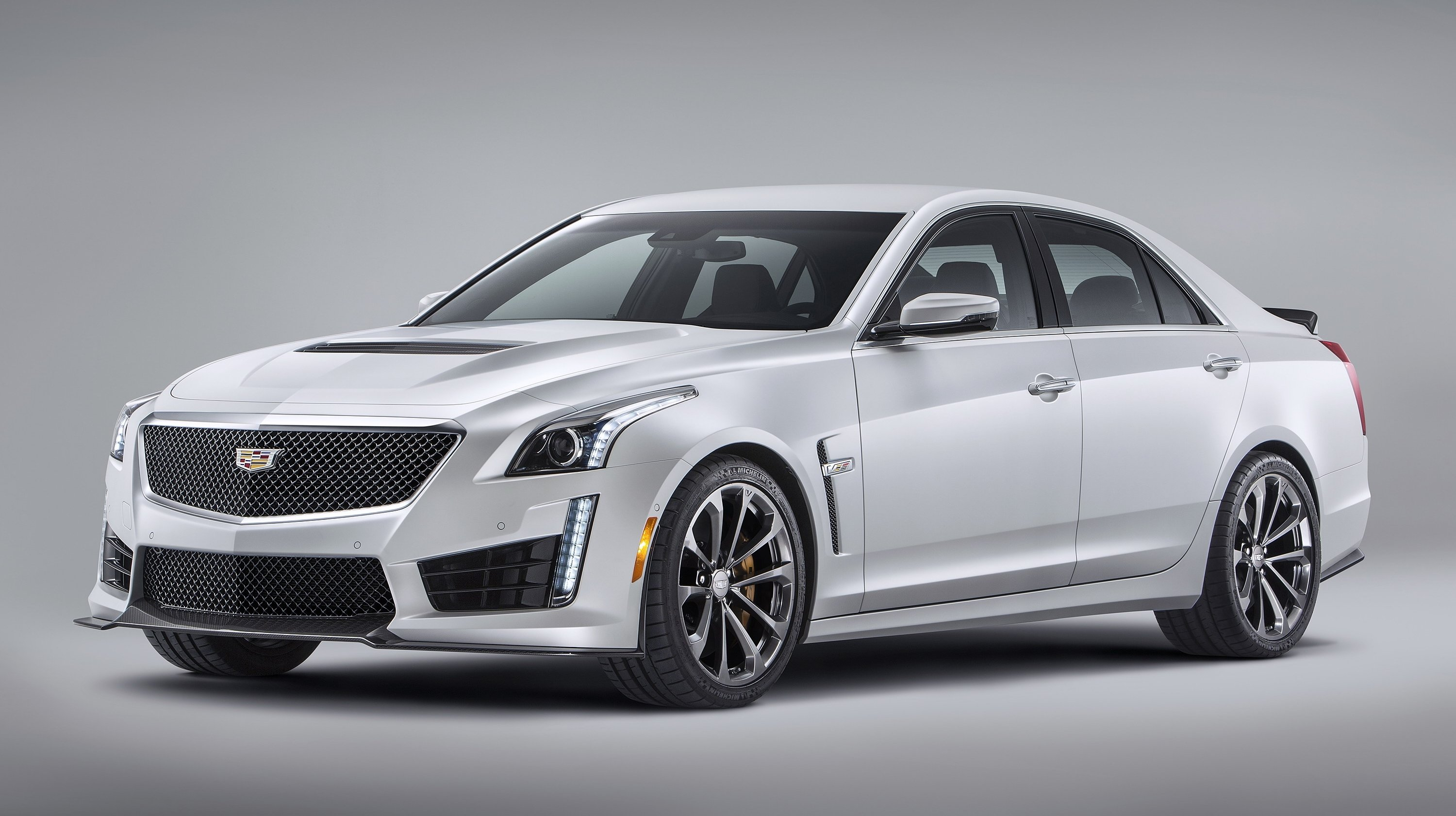 640 horsepower, carbon fiber everywhere, 3.7 seconds to 60 mph, 200-mph top speed, and four door... `Murica!!!