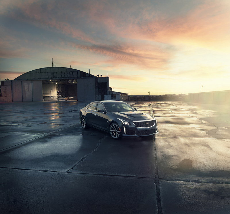 Wallpaper of the Day: 2016 Cadillac CTS-V