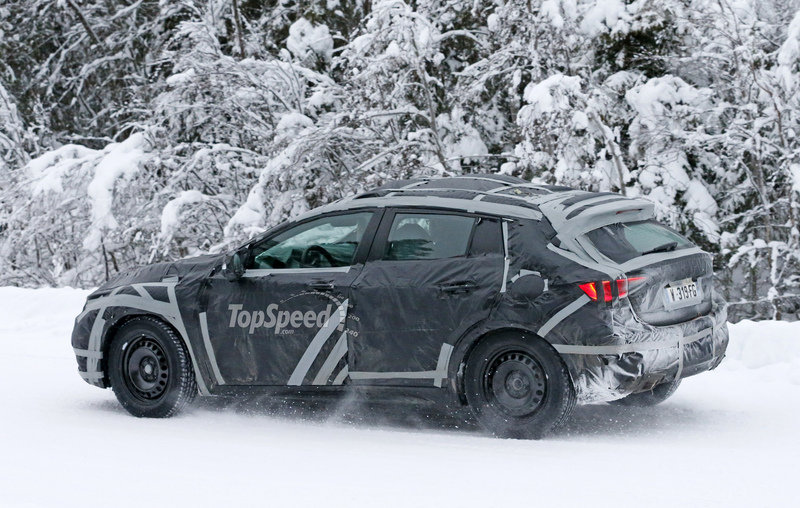 Spy Shots: 2016 Infiniti Q30 Caught Testing in the Snow