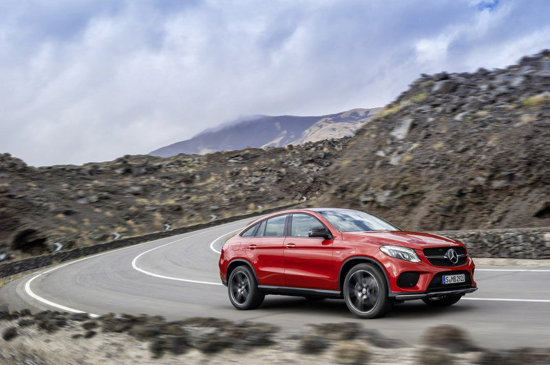 2016 Mercedes-Benz GLE Coupe High Resolution Exterior - image 585179