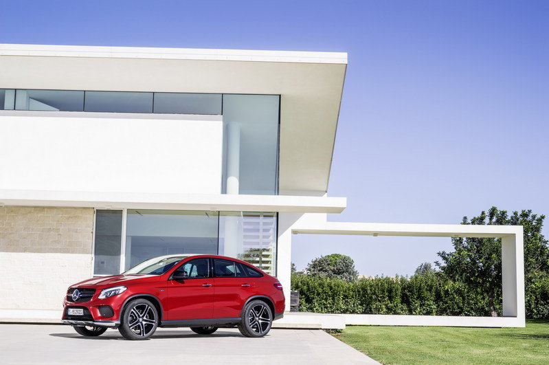 2016 Mercedes-Benz GLE Coupe High Resolution Exterior - image 585181