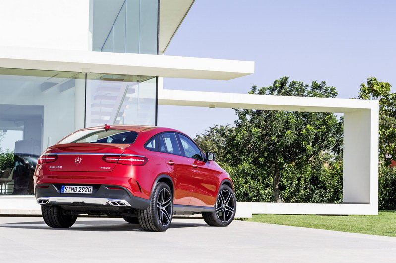 2016 Mercedes-Benz GLE Coupe High Resolution Exterior - image 585182