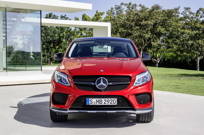 2016 Mercedes-Benz GLE Coupe High Resolution Exterior - image 585184