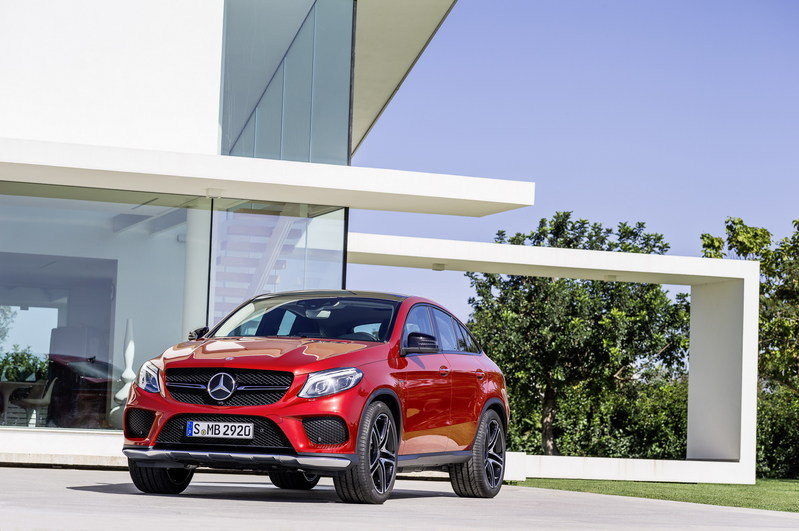 2016 Mercedes-Benz GLE Coupe High Resolution Exterior - image 585185