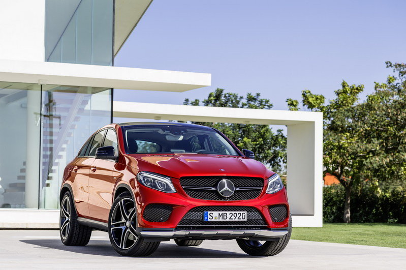 2016 Mercedes-Benz GLE Coupe High Resolution Exterior - image 585186