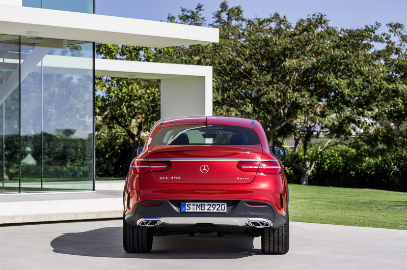 2016 Mercedes-Benz GLE Coupe High Resolution Exterior - image 585188