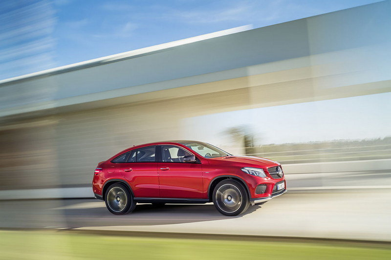 2016 Mercedes-Benz GLE Coupe High Resolution Exterior - image 585191