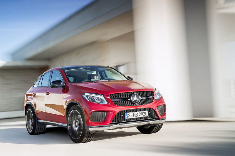 2016 Mercedes-Benz GLE Coupe High Resolution Exterior - image 585192