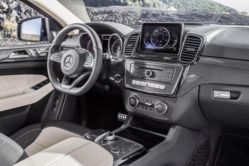 2016 Mercedes-Benz GLE Coupe Interior - image 585174