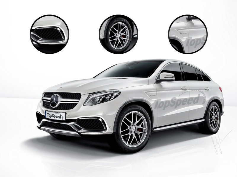 2016 Mercedes-Benz GLE63 AMG Coupe Exclusive Renderings - image 585523