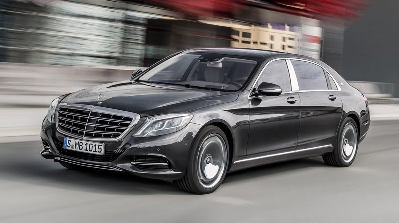 2016 Mercedes-Maybach S-Class High Resolution Exterior - image 599556