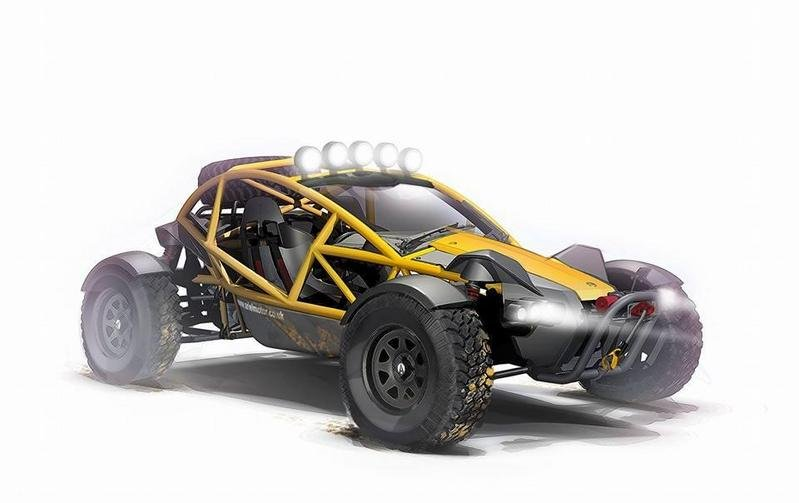 2015 Ariel Nomad Computer Renderings and Photoshop - image 600196