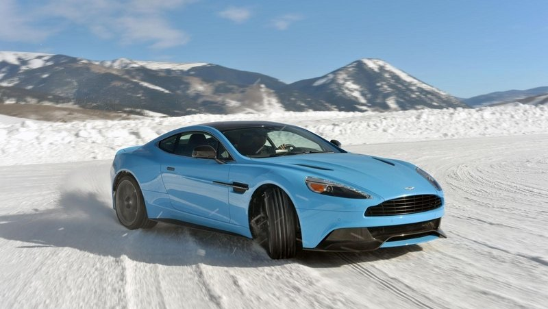 Aston Martin on Ice Winter Driving Event Returns to Colorado