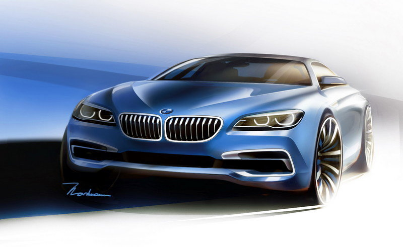 2016 BMW 6 Series Gran Coupe Drawings - image 585571