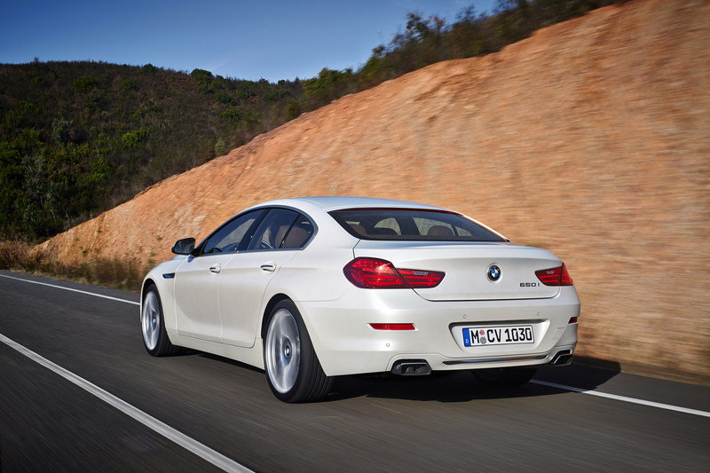 2016 BMW 6 Series Gran Coupe High Resolution Exterior - image 585573