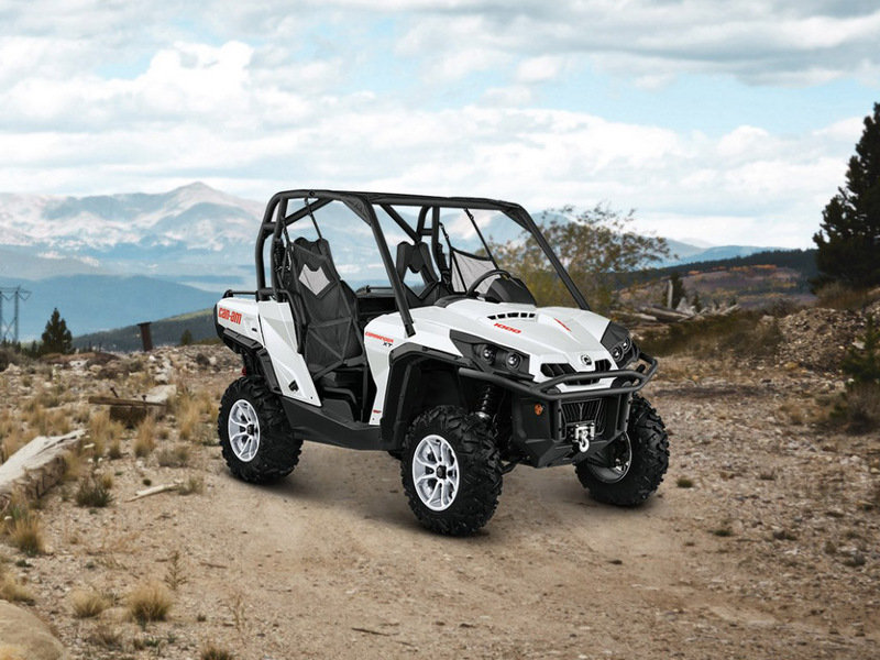 Can am commander xt picture 585517 motorcycle review top